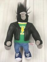 "TY Beanie Baby 8"" Johnny Gorilla Sing Movie Plush Toy Stuffed Animal"
