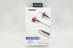 Bose SoundSport In-Ear Wired Headphones Power Red 741776-0040 NEW SEALED