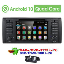 "For BMW 5 Series E39 M5 530i 540i 7"" Android 10.0 Car DVD GPS Radio Stereo +CAM"