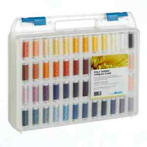Premium Mettler Poly Sheen 96 Sewing & Embroidery 200m Spools Thread Box Set Kit