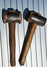 TWO Thor copper hide hammers size 4 mallet