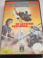 Blue Thunder V - Das Fliegende Auge - Der Erzfeind - VHS/Action/Dick Butkus/RCA