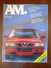 AM Mensile Automobile n°6 1990 Alfa Romeo 33 VW Passat Syncro Volvo 460  [P40]