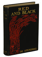 The Red and Black by de STENDHAL ~ First Edition 1900 ~ Marie-Henri Beyle 1st UK
