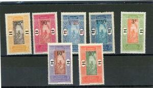 Dahomey 1924 Scott# 90-6 Mint og LH