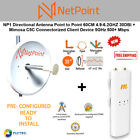 NetPoint Antenna NP1 30DBI + Mimosa C5C Connectorized Client Device 5GHz PRE-CON