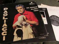 PAGLIACCI 2 LP BOX SET Del Monaco MacNeil Tucci A4237 rare vinyl set