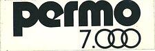 Autocollant sticker PERMO 7000 1980