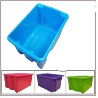 Storage Boxes & Containers Plastic Large 5 L 14 L 32 L 52 L Box Bin With Lid New