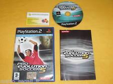 PES 5 PRO EVOLUTION SOCCER 5 Ps2 Playstation 2 ver.ITA