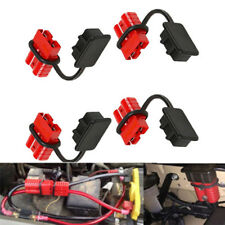 12-36V DC 50A 6-8 Gauge Battery Quick Connect/Disconnect Wire Harness Plug Kit