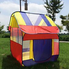 Outdoor Indoor Kids Play Tent Big Pop Up Play Hut Play Fun Camping Folding Tent