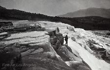 William Henry Jackson Photo, Mammoth Hot Springs, Yellowstone, 1871