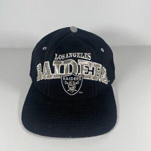 Vtg Los Angeles Raiders Starter Snapback Hat 100% WOOL Pro Line 90's Right Hat
