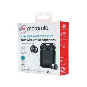 NEW Motorola Vervebuds 110 True Wireless Compact Headphones Water-Resistant ⚫️⚪️