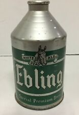 New listing Ebling White Head Ale Crowntainer Cone Top Beer Can Irtp Ebling New York Ny