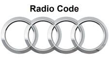 Audi Radio Code / Key Code Audi RNS-E Concert Blaupunkt Grundig Symphony Chorus