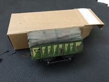 Vintage Hornby French O Gauge Open Wagon With Tarpaulin Cover