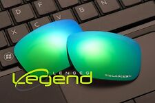 E63 Green blue ETCHED POLARIZED Replacement Lenses For Oakley HOLBROOK