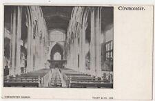 Cirencester Church, Taunt 383 Postcard, B904
