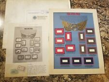 The Civil War - Postal Commemorative Society World Of Stamps Series - Unused