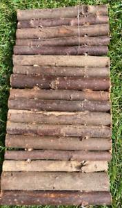 RABBIT & GUINEA PIG WOODEN BENDY STICKS MAKES BRIDGES PLATFORMS BEDS OR WALLS