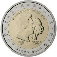 * 2 EURO COMMEMORATIVE - LUXEMBOURG 2005