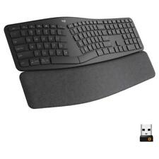 Logitech ERGO K860 Wireless Waveform Keyboard - Black