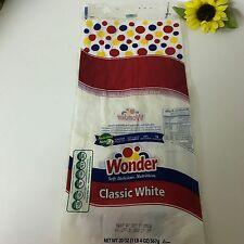Wonder Bread Classic White Wrapper Bag Vitamin D 1lb 4oz Oct 17 2012 Hostess