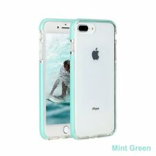 For iPhone 8Plus X XS Max XR Clear Back Shockproof Bumper Protective Cover Case