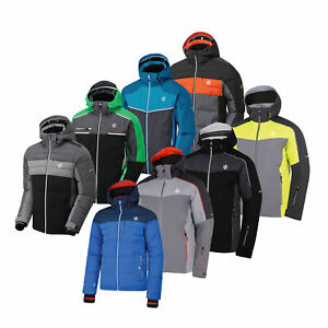 Dare2b Mens Quilted Winter Waterproof Ski Jacket Coat Huge Clearance RRP £200