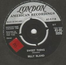 Billy Bland Sweet Thing  London HL 9096 VG