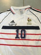 Taille L - Maillot France, 100% neuf, ZIDANE ! * Coupe du monde 98 1998 Football