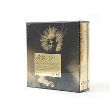 """UNKLE """" WHERE DID THE NIGHT FALL ANOTHER NIGHT OUT 2 CD/BOOK BOXSET """" NEW SEALED"""