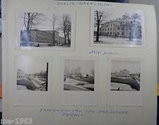 original  Foto Nachlass auf Albumseiten Polen-Abbeville Frankreich-Stettin