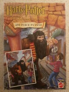 Harry Potter and the Philosophers Stone 250 Piece Puzzle Complete Vintage 2000