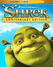 Shrek (Blu-Ray + Dvd, 2018, Anniversary Edition) New