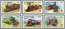 Timbres Trains Cambodge 1846/51 ** lot 24880