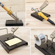 Alloy Durable Soldering Iron Frame Metal Support Stand Holder Base Welding tools