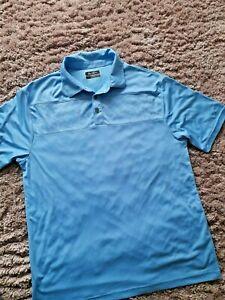 Ben Hogan Performance Polo Shirt Size L BLUE