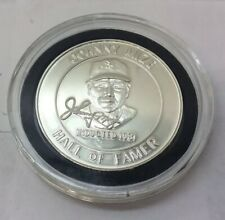 Johnny Mize 1 Troy Ounce 999 Silver Baseball Hall Of Fame Coin