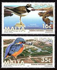 Malta 968-969, MNH. Nature Reserves. Birds, 1999