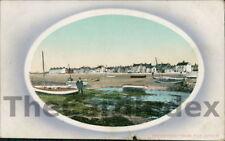 RHOSNEIGR Beach Postcard nr Holyhead ANGLESEY Valentine's Series
