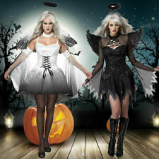 Cosplay kostüm Gefallener Engel damen karneval kleid  halloween Party fasching