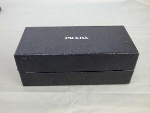 "PRADA Black Sunglasses Glasses Empty Box for Gift or Storage 7"" x 3"""