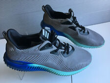 check out e26df 904fe Adidas Mens Alphabounce Shoes GreyOnyxAqua BB9035 Size 13