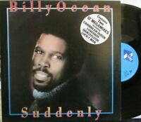 "BILLY OCEAN ~ Suddenly ~ 12"" Single PS"