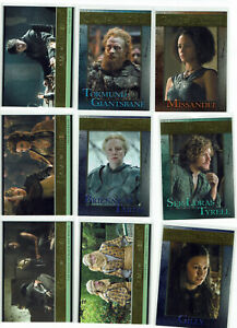 Game of Thrones Season 5 GOLD Base Parallel Card Selection 1:24 Packs #***/150