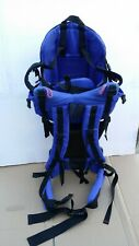 Gerry Baby Carrier Hiking Backpack Plastic Lightweight Stand Blue