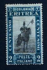 Eritrea Italian Colony 1930 2c blue/black SG 151 MLH